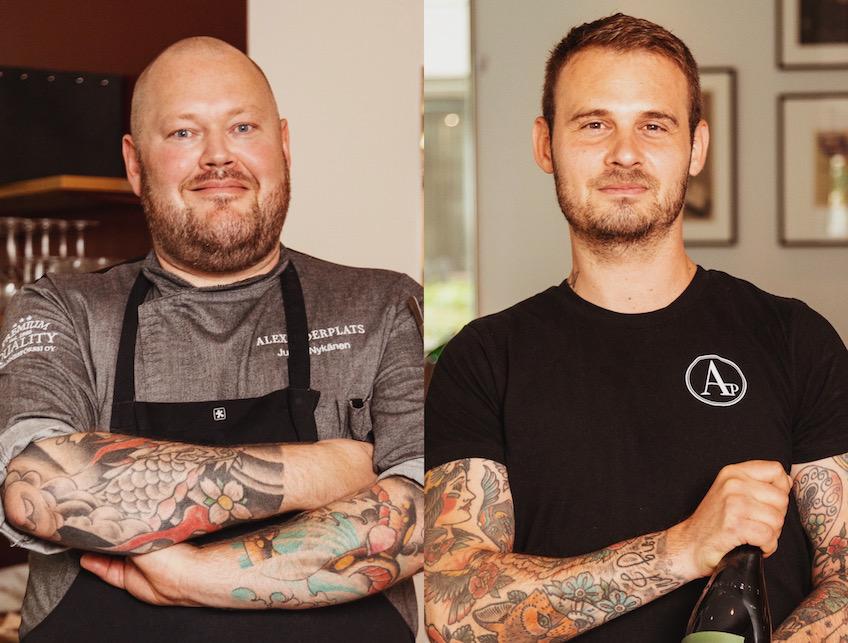Alexanderplats on Suomen neljänneksi paras ravintola!